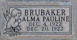 Alma Pauline Brubaker