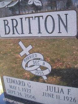 Edward G Britton
