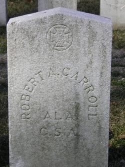 Pvt Robert A Carroll
