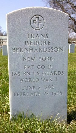 Frans Isedore Bernhardsson