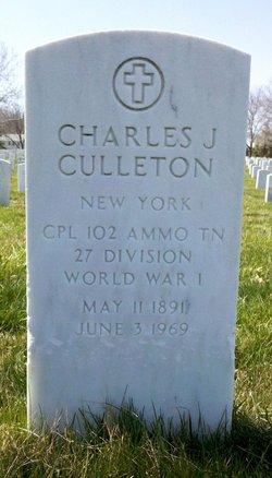 Charles J Culleton