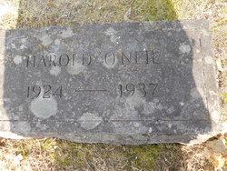 Harold O'Neil