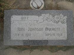 Ione <I>Johnson</I> Averett