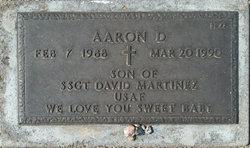 Aaron D Martinez
