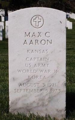 CPT Max C Aaron