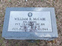 Pvt William R McCabe