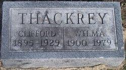 Wilma Susan <I>Brown</I> Thackrey
