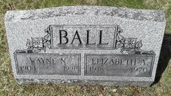 Elizabeth Annette <I>Renton</I> Ball
