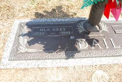 Ola Grey <I>Davis</I> Dail