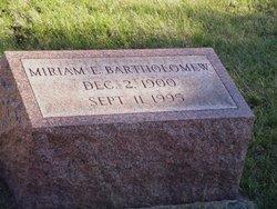 Miriam E. <I>Kleppinger</I> Bartholomew