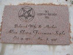 Alice Elvira <I>Freeman</I> Siple