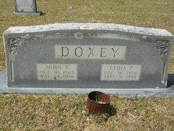 Lydia <I>Plunkett</I> Doxey