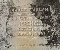 Maude Evelyn Marshall