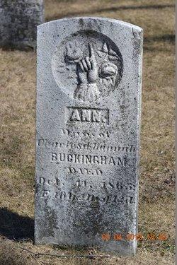 Ann Buckingham