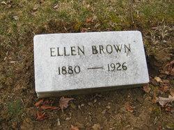 Ellen <I>Williams</I> Brown