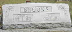 Martha <I>Davis</I> Brooks
