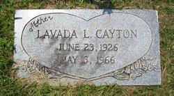 Lavada Bernadine <I>Lewis</I> Cayton