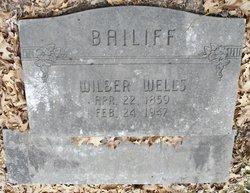 Wilbur Wells Bailiff