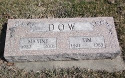 Maxine E <I>Springer</I> Dow