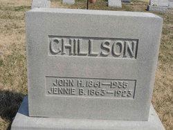 """Jane B """"Jennie"""" <I>Goshorn</I> Chillson"""