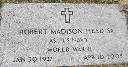 Robert Madison Head