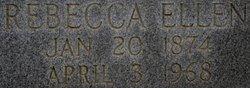 Rebecca Ellen <I>Jones</I> Goodman