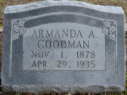 """Armanda Adella """"Della"""" Goodman"""