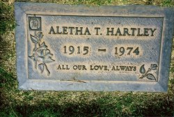 Aletha Katherine <I>Todd</I> Hartley
