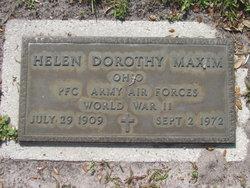 Helen Dorothy Maxim