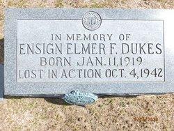 Ens Elmer Franklin Dukes