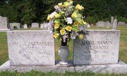 Mabel Elizabeth <I>Rankin</I> Alexander