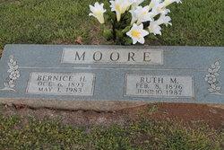 Ruth M <I>Bradley</I> Moore