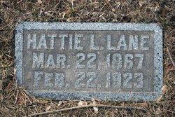 Hattie L Lane