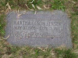 Martha E <I>Olson</I> Jensen