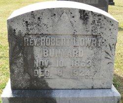 Rev Robert Lowry Bunyard, Sr