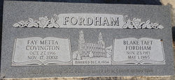 Blake Taft Fordham
