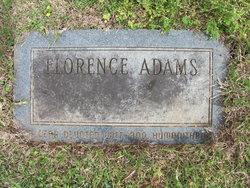 Florence <I>Shannon</I> Adams
