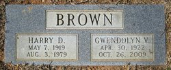 "Gwendolyn Vivian ""Betty"" <I>Hilleary</I> Brown"