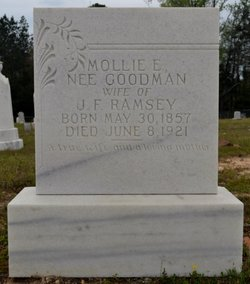 Mollie E <I>Goodman</I> Ramsey