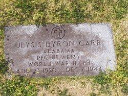 PFC Ulysis Byron Carr