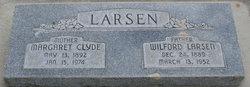 Margaret Melissa Bateman <I>Clyde</I> Larsen