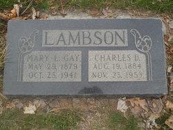 Charles Delbert Lambson