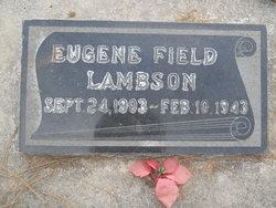 Eugene Field Lambson