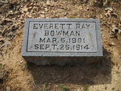 Everett Ray Bowman