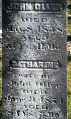 Catherine <I>Hess</I> Oller