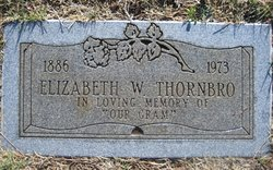 Elizabeth Chase <I>Woodfin</I> Thornbro