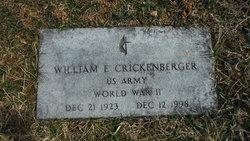 William Emmett Crickenberger