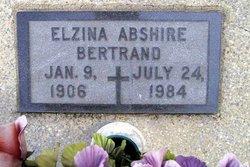 Elzina <I>Abshire</I> Bertrand