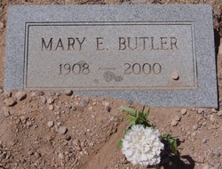 Mary E Butler