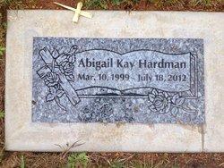 """Abigail Kay """"Abby"""" Hardman"""